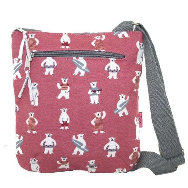 Pink Bears Messenger Bag