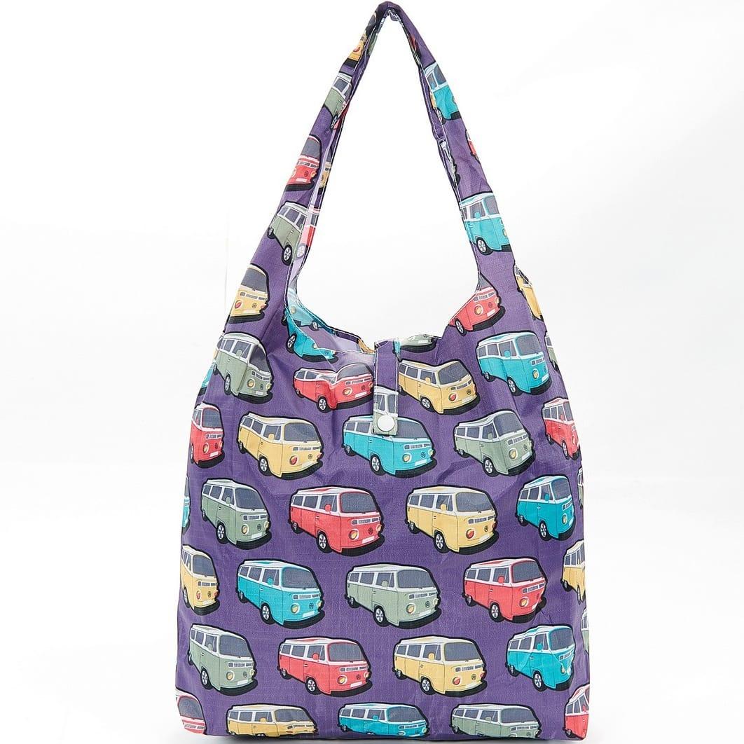 Purple Camper Vans Foldaway Shopper