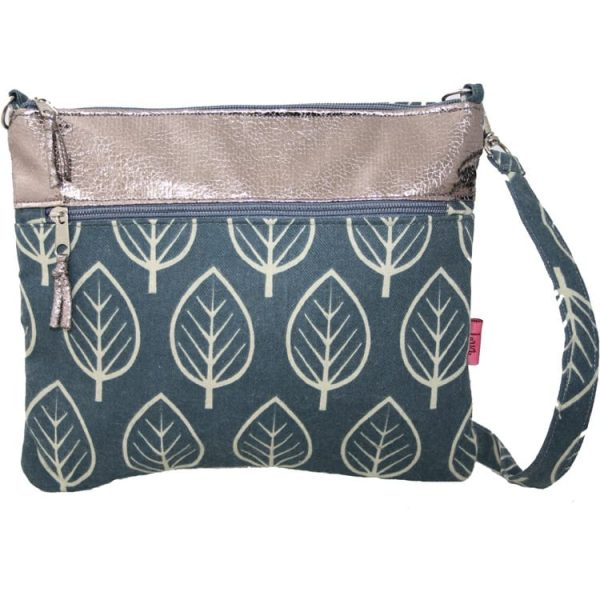 Slate Leaf | Short Cross Body Bag