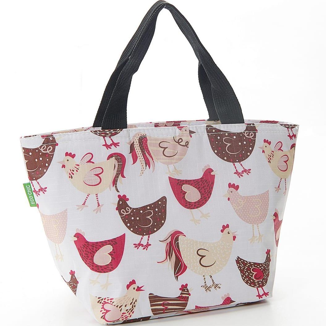 White Chicken Lunch Bag