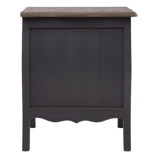 Bourges 3 Drawer Bedside Chest