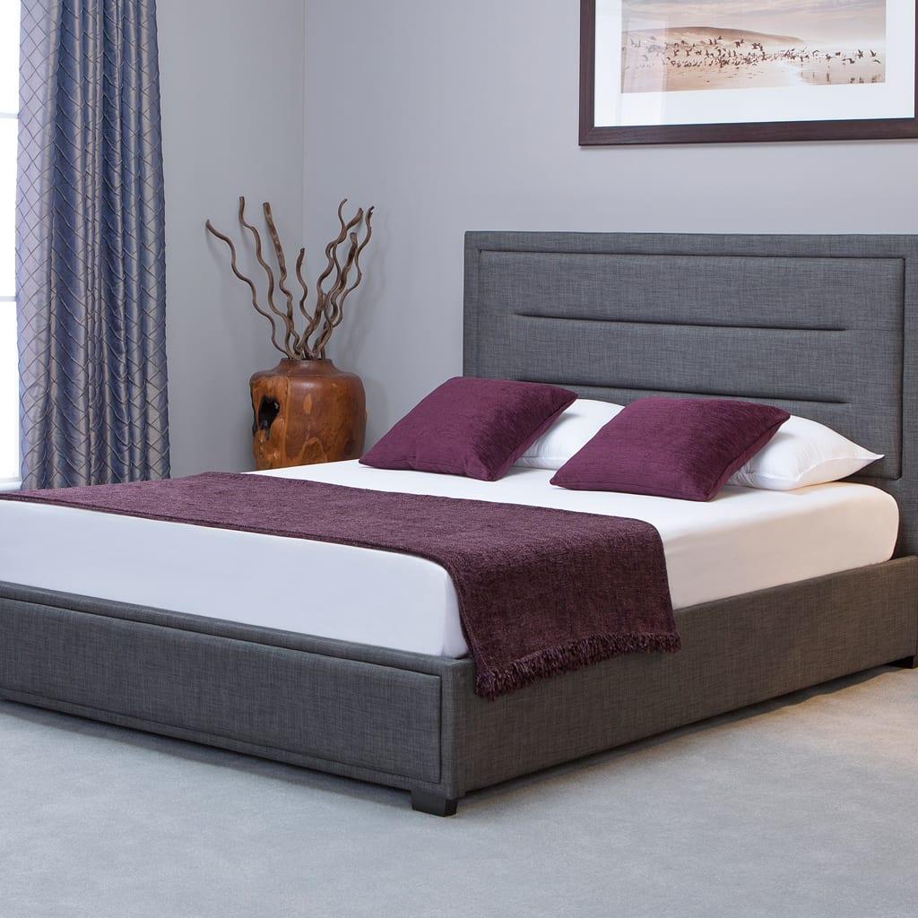 Knightsbridge Ottoman Bed Grey