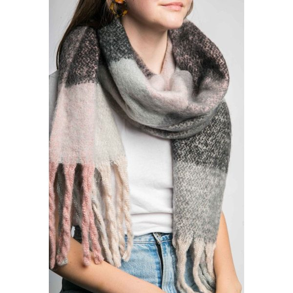 Multi Pink Scarf