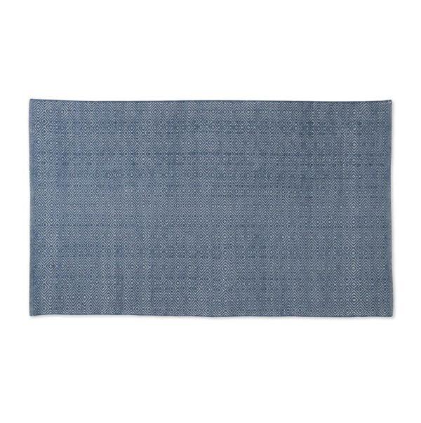 Navy Diamond Rug