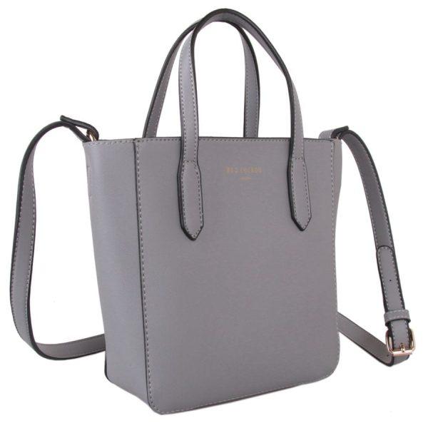 Small Grey Bucket Bag