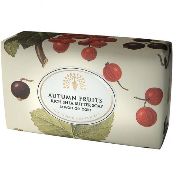 Autumn Fruits Vintage Wrapped Soap