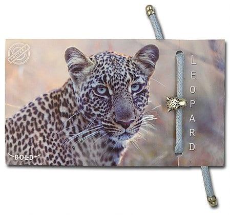 B-O-L-D Leopard Bracelet