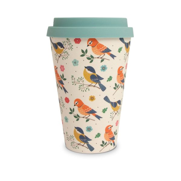 Birds Bamboo Eco Mug