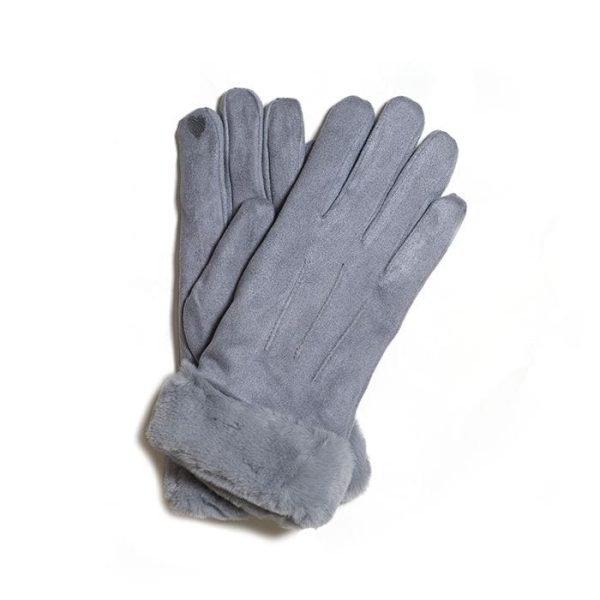 Dark Grey Gloves