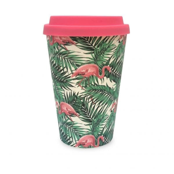 Flamingos Bamboo Eco Mug