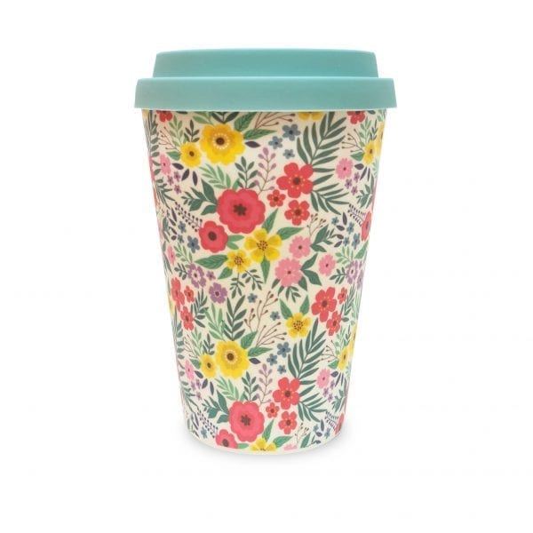 Flowers Bamboo Eco Mug