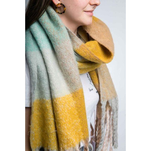 Multi Yellow Scarf