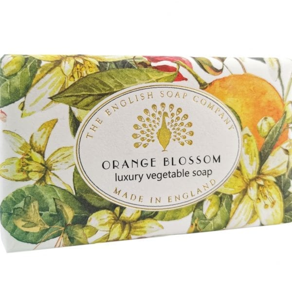 Orange Blossom Vintage Wrapped Soap