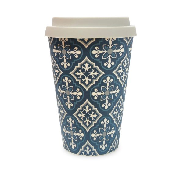 Ornate Tile Bamboo Eco Mug