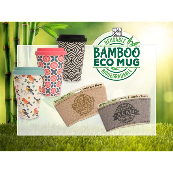 Personalised Bamboo Eco Sleeve