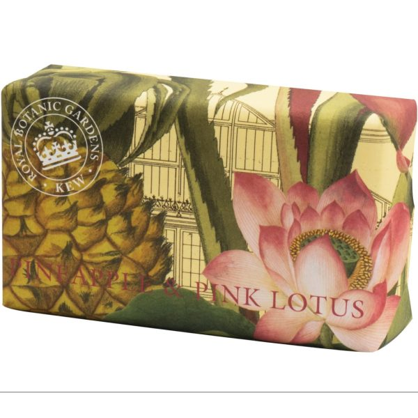 Pineapple & Pink Lotus Vintage Wrapped Soap