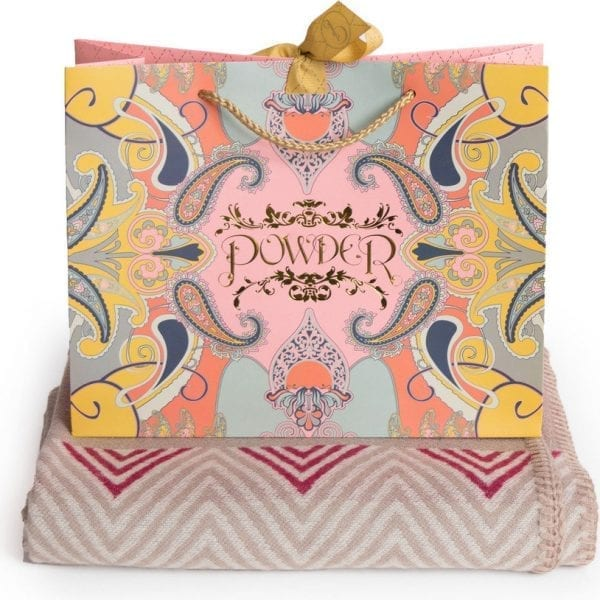 Zara Camel & Berry Wrap