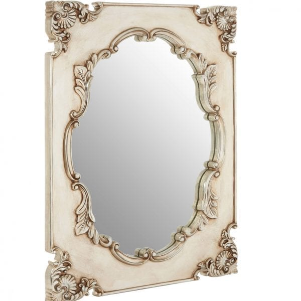 Cannes Champagne Indent Wall Mirror