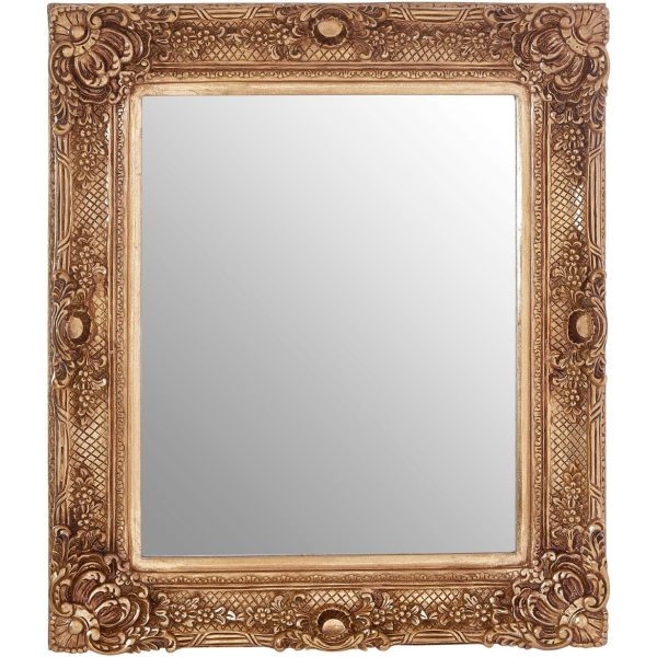 Cannes Gold Finish Wall Mirror