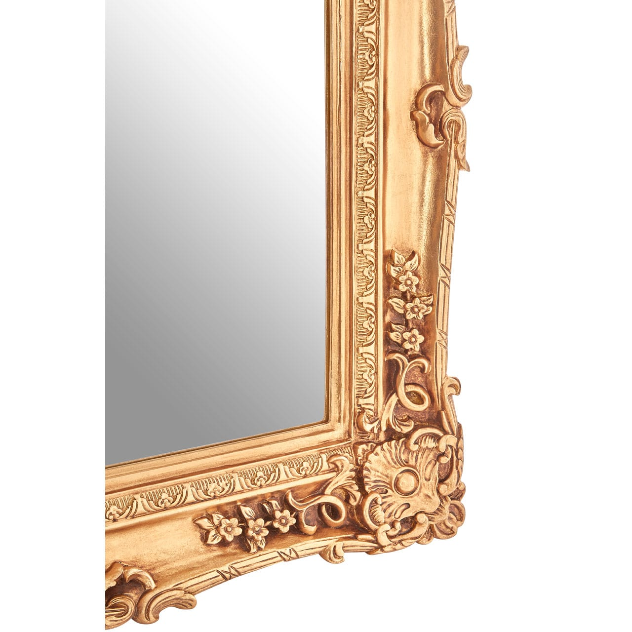 Cannes Gold Wall Mirror