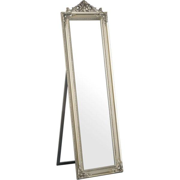 Colmar Silver Floor Standing Mirror