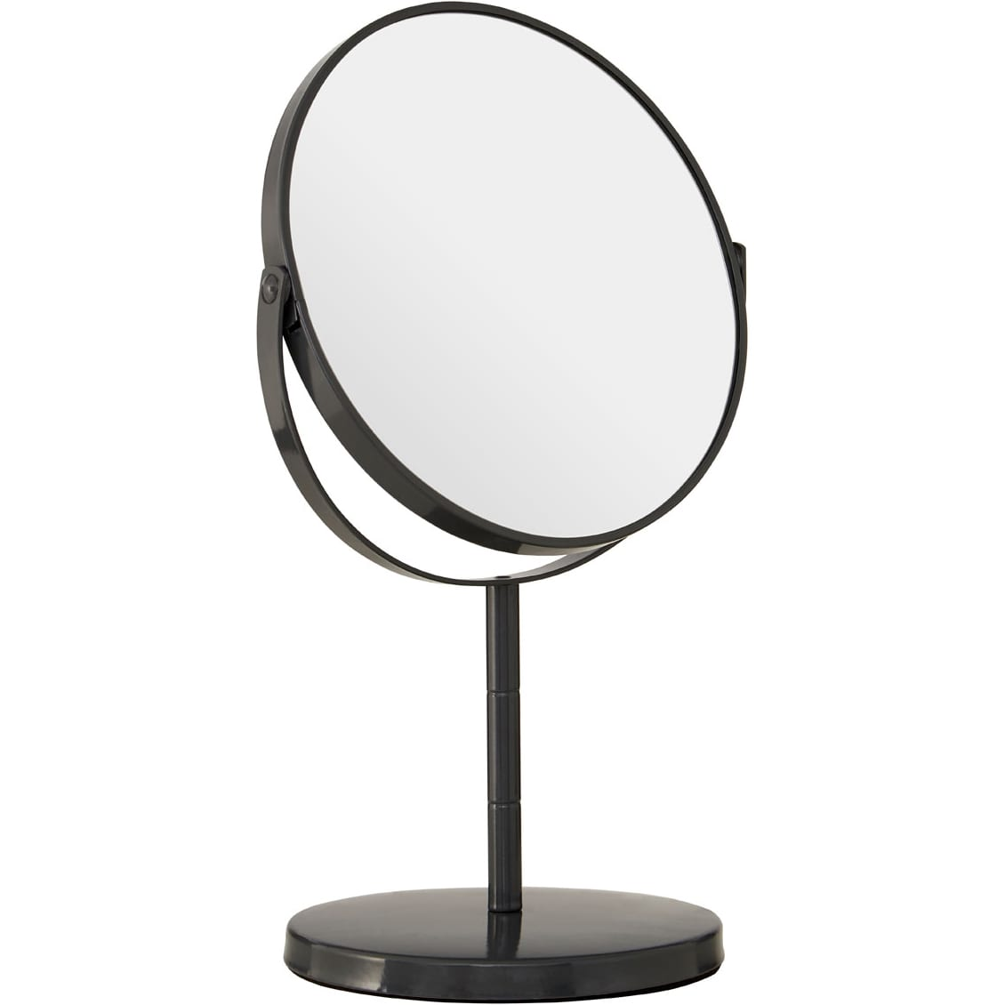 Grey Metal Swivel Large Table Mirror