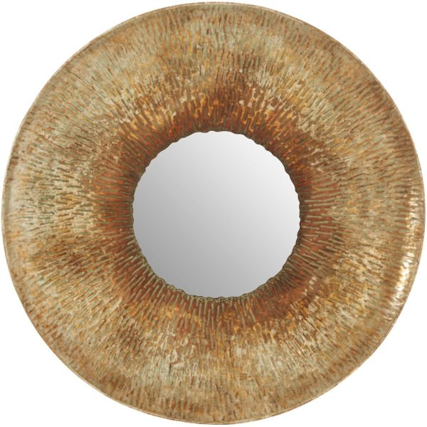 Hafsa Large Textured Wall Mirror