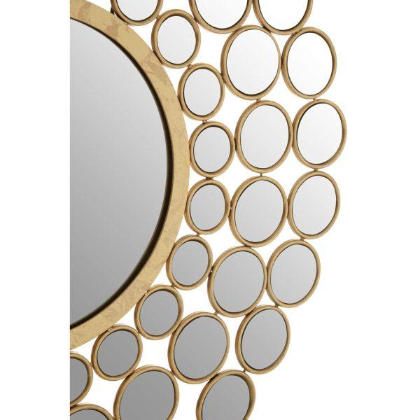 Hafsa Solar Circles Wall Mirror