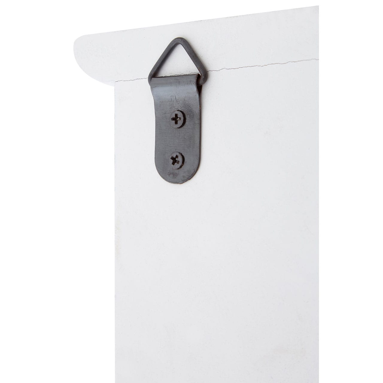 Kettlewell White Wall Mirror