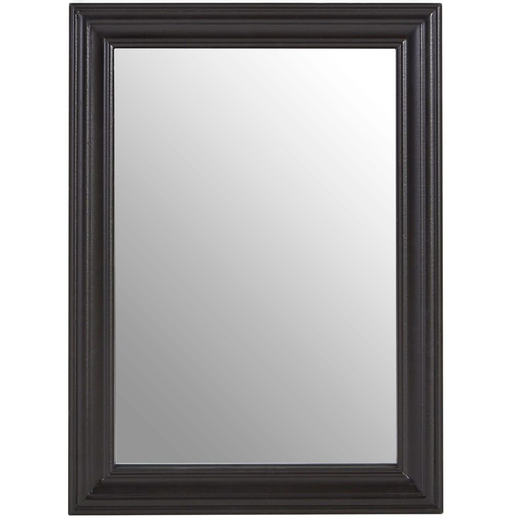 Regatta Black Wooden Framed Wall Mirror | The Haven Home ...