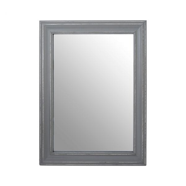 Regatta Grey Wooden Framed Wall Mirror
