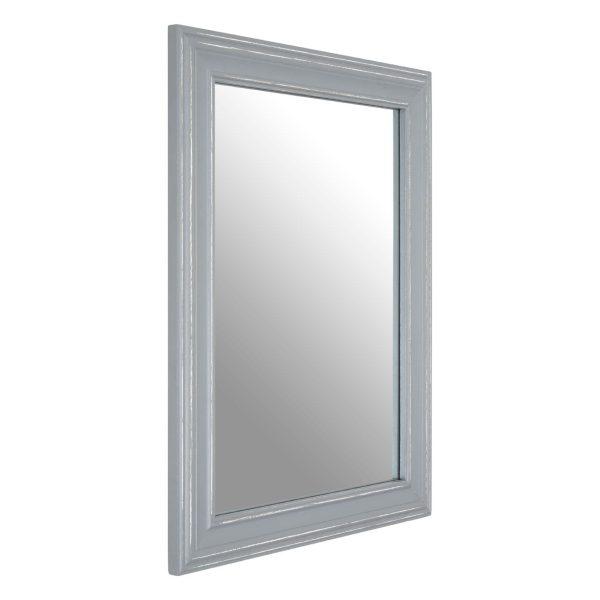 Regatta Grey Wooden Framed Wall Mirror