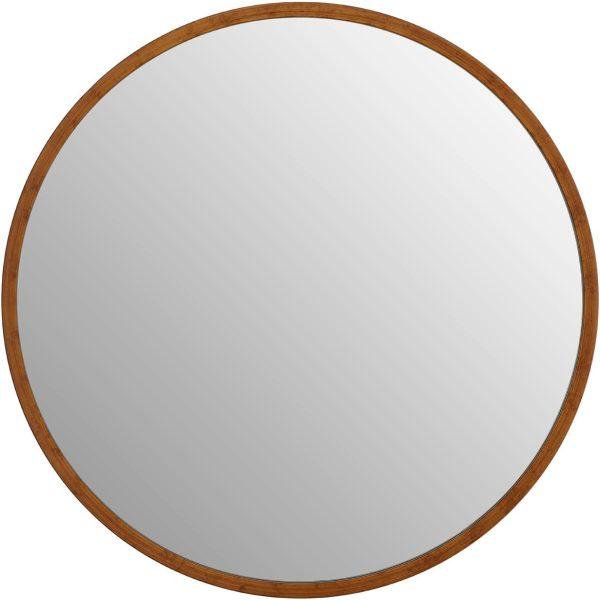 Saskina Antique Gold Finish Wall Mirror