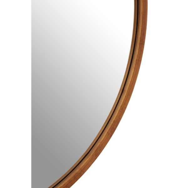 Saskina Antique Gold Finish Wall Mirror