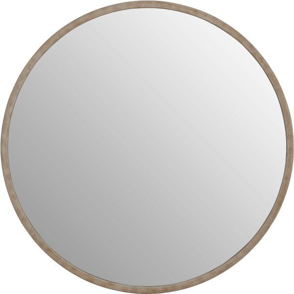 Saskina Wall Mirror With Antique Silver Frame