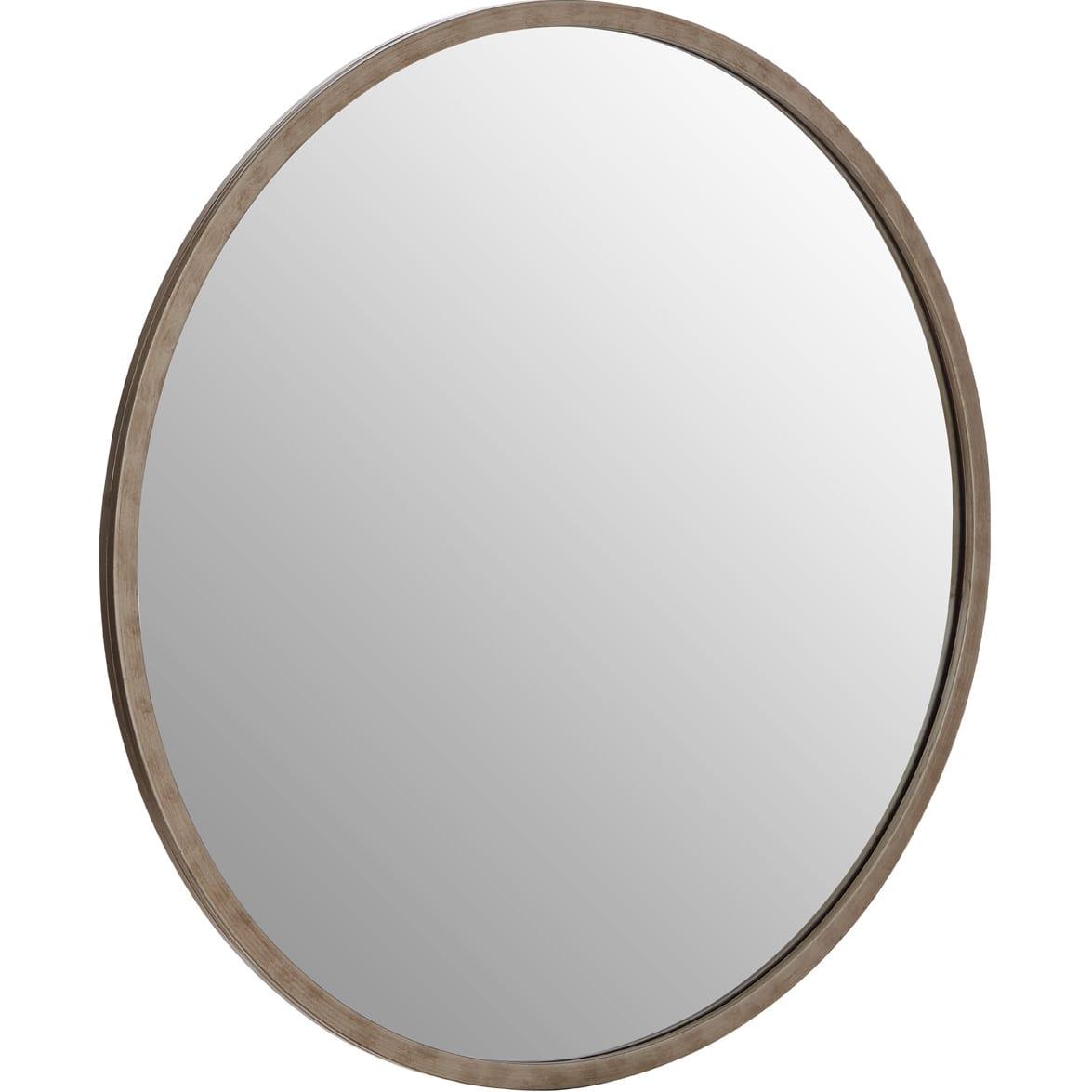 Saskina Wall Mirror With Antique Silver Frame