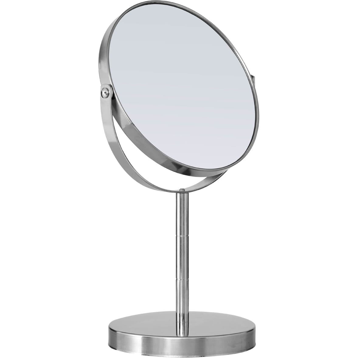 Stainless Steel Swivel Table Mirror