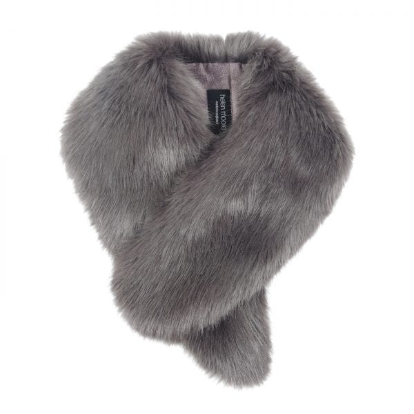 Steel Faux Fur Vintage Collar
