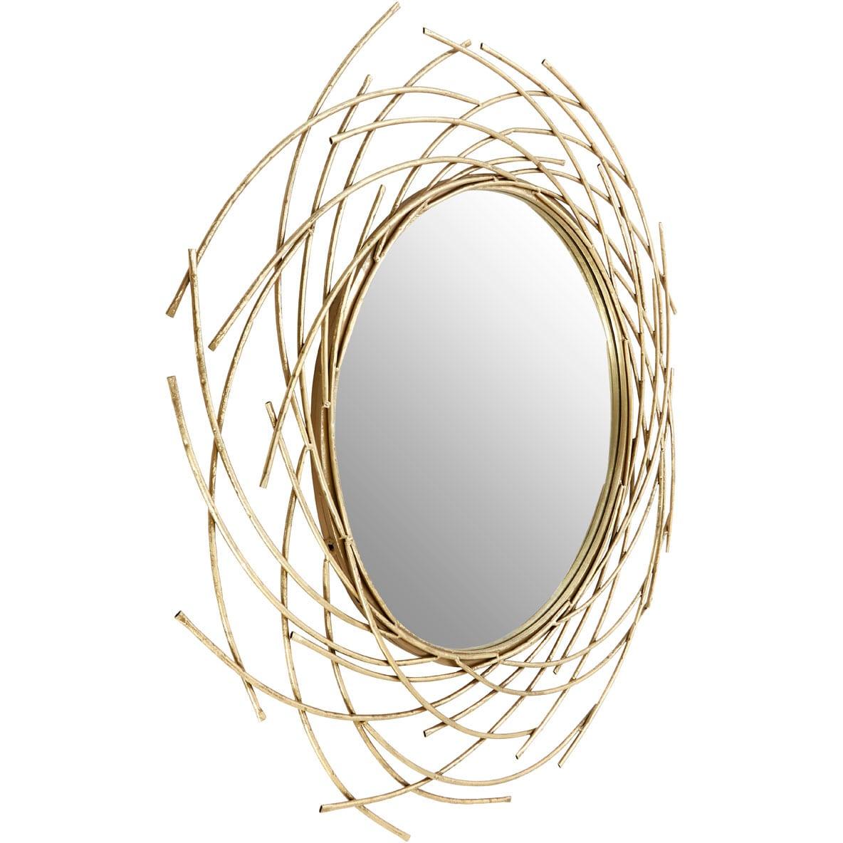Toulon Spiral Wall Mirror
