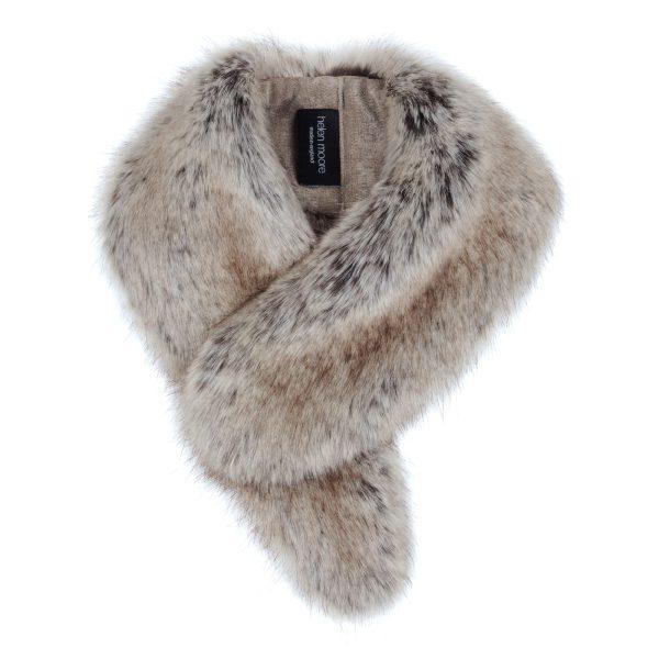 Truffle Faux Fur Vintage Collar