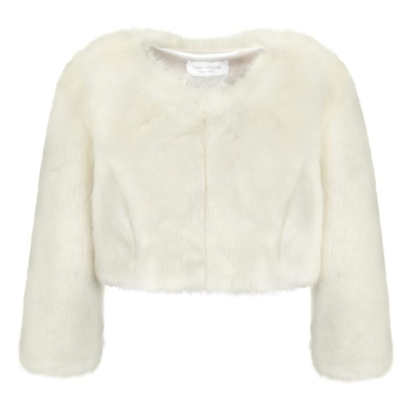Ermine Faux Fur Jacket