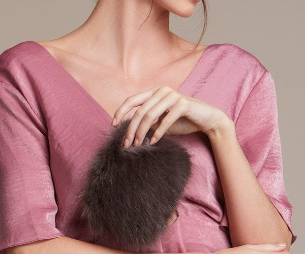 Faux Fur Coin Purses
