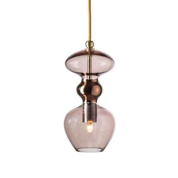 Futura Pendant Lamp, Obsidian, 24cmH