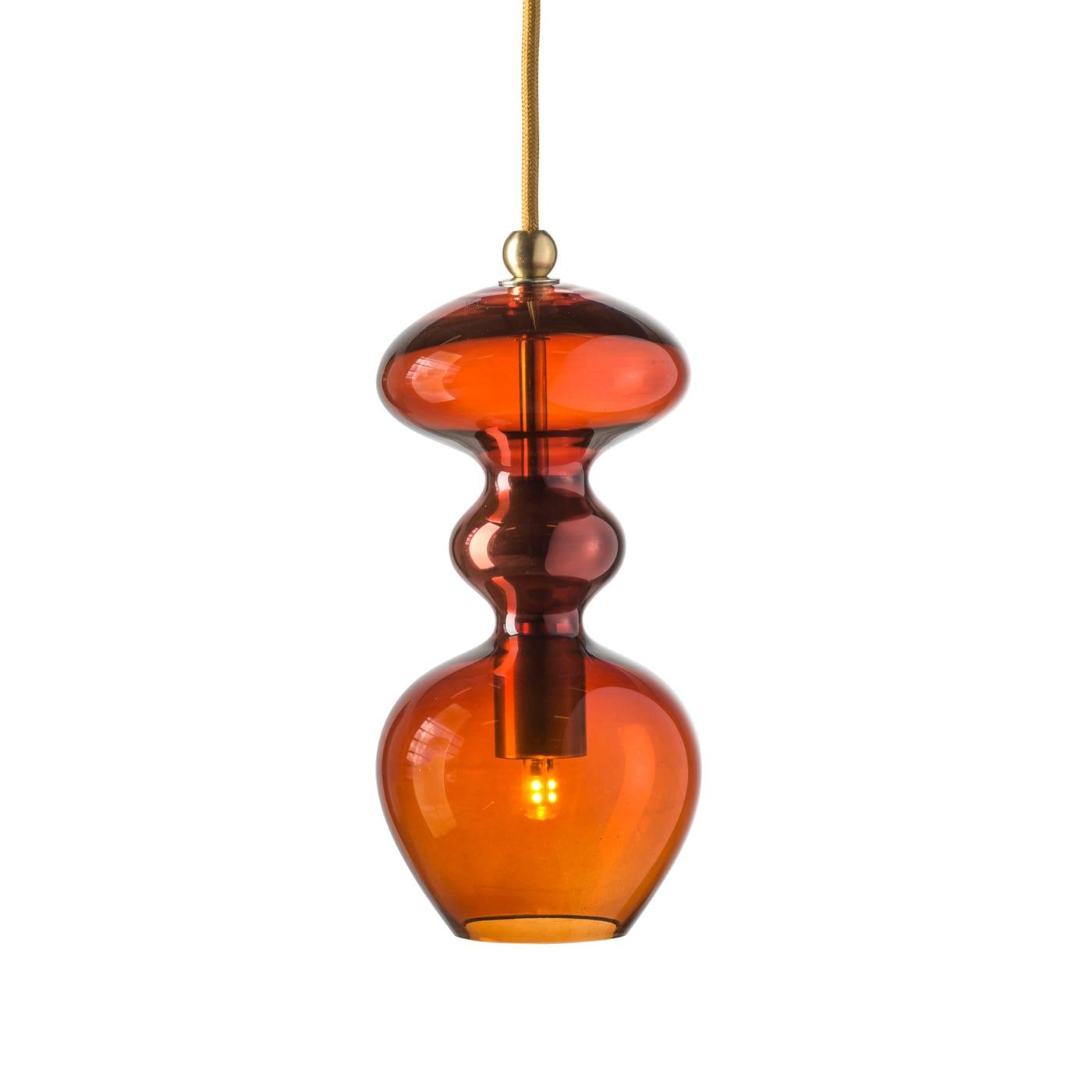 Futura Pendant Lamp, Rust, 24cmH