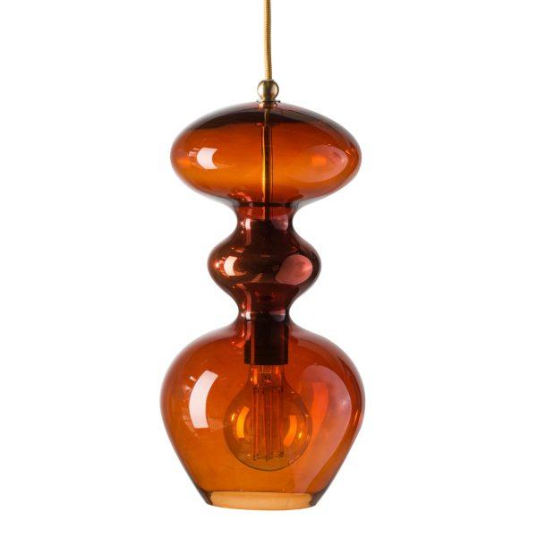 Futura Pendant Lamp, Rust, 37cmH