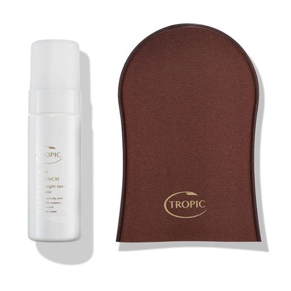 Sun Drench Overnight Tanning Mousse & Tanning Mitt