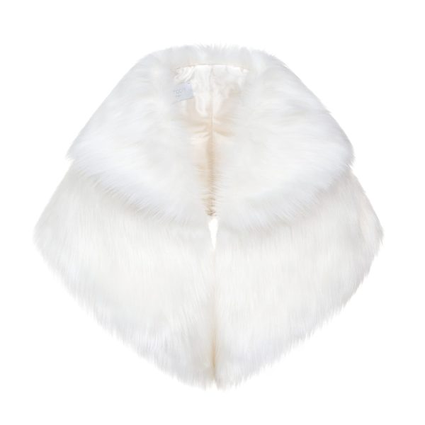 Whisper Faux Fur Bridal Gregory Collar