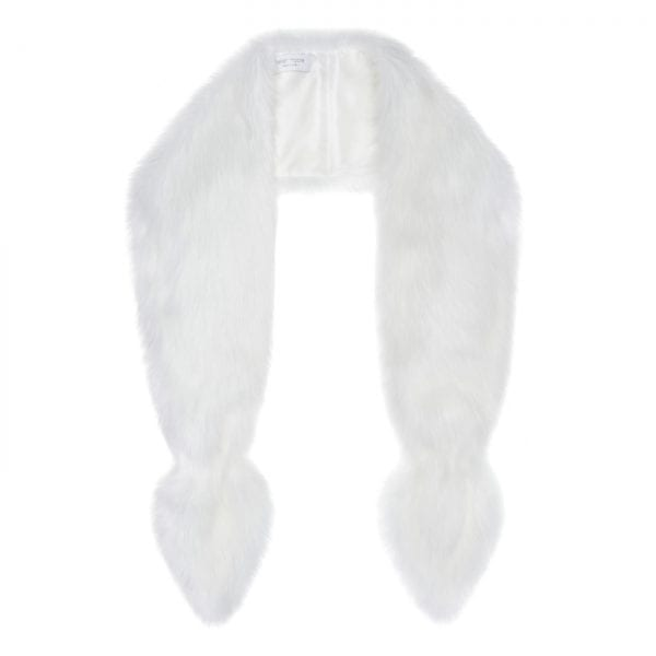 Whisper Faux Fur Bridal Vixen Scarf