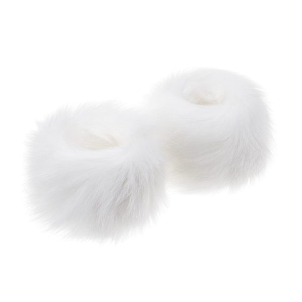 Whisper Faux Fur Wrist Warmers