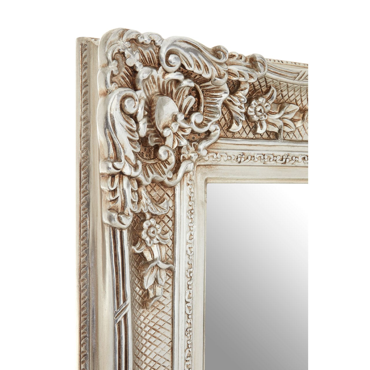 Cannes Champagne Carved Wall Mirror
